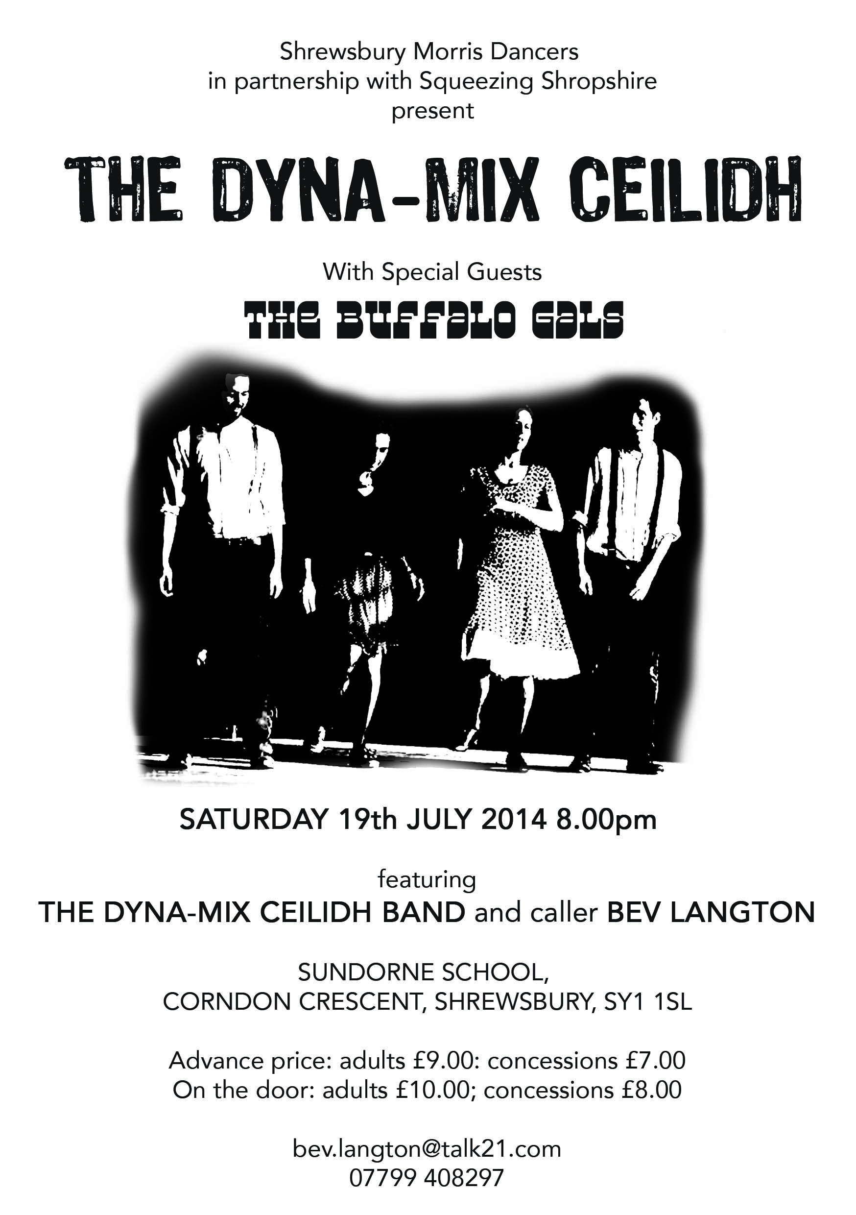 ceilidh flier 19 july